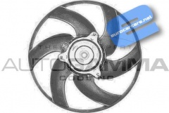 ECC1250F1 - Radiator Cooling Fan & Motor