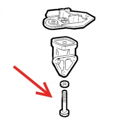 ECC16139924 - Bolt for Engine Mount