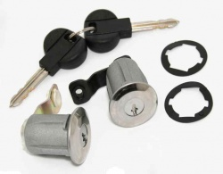 ECC9170CW - Door Barrel & Key Kit