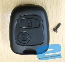 ECCKS17 - Citroen or Peugeot 2 Button Key Casing