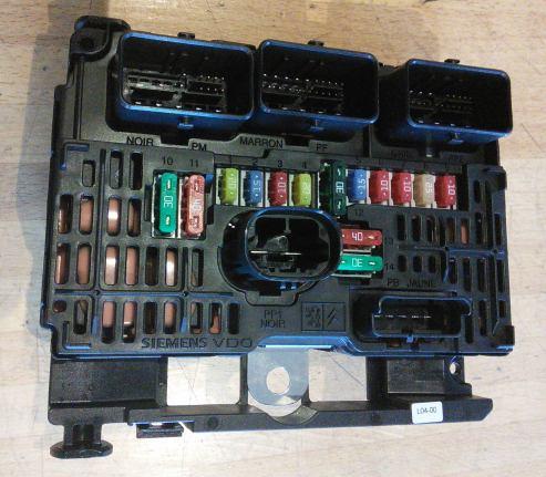 citroen c5 engine fuse box 6500ck - fuse box