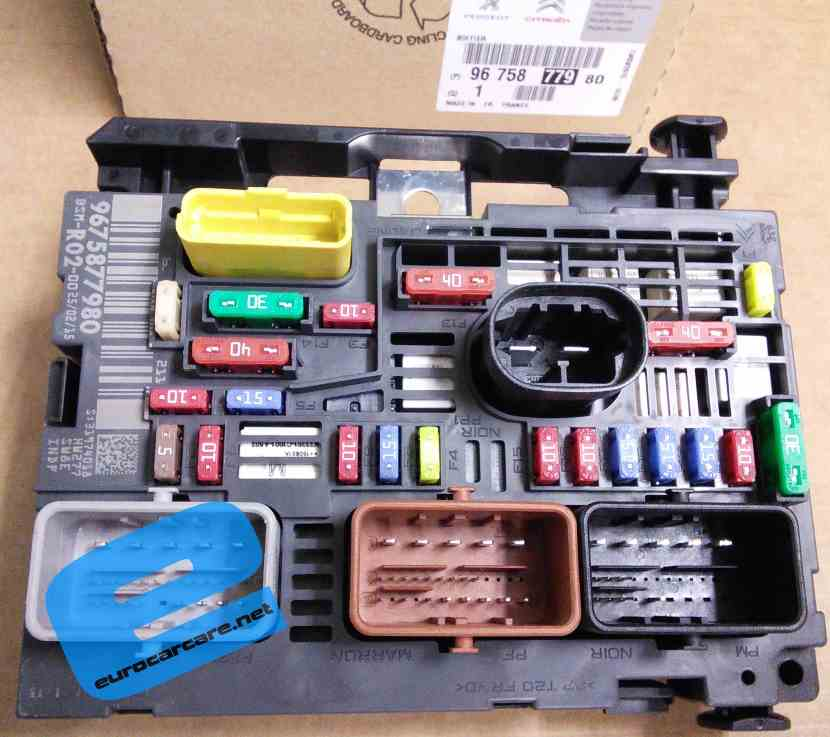 9675877980 - engine fuse box 2000 suzuki esteem 1 8 engine fuse box