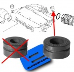 ECC165571607R - Air Filter Mounting Rubber 17mm id