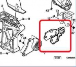 ECC180616 - Rear Engine Mounting Yoke