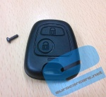 ECCKS27 - Citroen or Peugeot 2 Button Key Casing