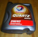 ECCQ9005 - Quartz 9000 5w40 Fully Synthetic Engine Oil  5 Litres