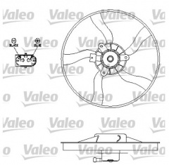 ECC125396 - Radiator Cooling Fan
