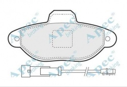 ECC77365191 - Brake Pad Set Front