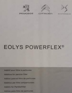 ECC9736A1 - Genuine PSA Eolys Powerflex DPF Additive 3 Litres