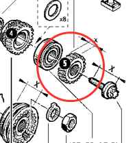 SP 8200609316 - 5th Gear