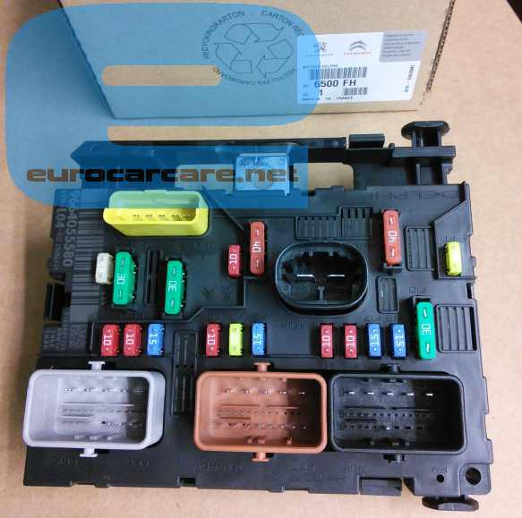 Fuse Box In Citroen C2 - Wiring Diagrams List