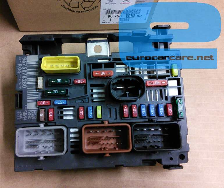 outside light wiring diagram uk 9675878280 engine fuse box  9675878280 engine fuse box