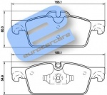 ECC1610103580 - Brake Pad Set Front