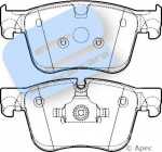 ECC1612412380 - Front Brake Pad Set