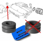 ECC165571389R - Air Filter Mounting Rubber 12mm id