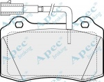 ECC77362227 - Brake Pad Set Front