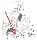 8904NN - Heating Element Seat