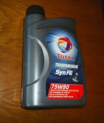 ECCCIT4077 - Total Syn-FE 75w90 - Fully Synthetic Transmission Oil 1 Litre