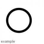 ECC14463980 - O Ring Cam Shaft Seal